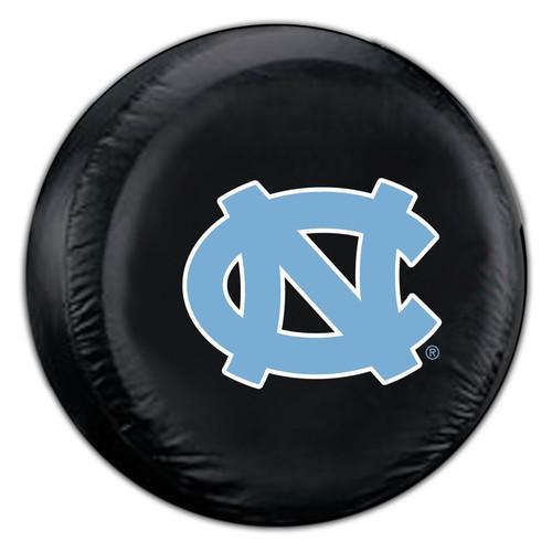 North Carolina Tar Heels Tire Cover Large Size Black CO