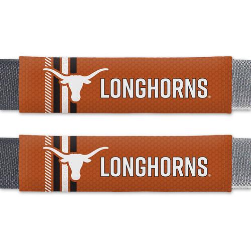 Texas Longhorns Seat Belt Pads Rally Design