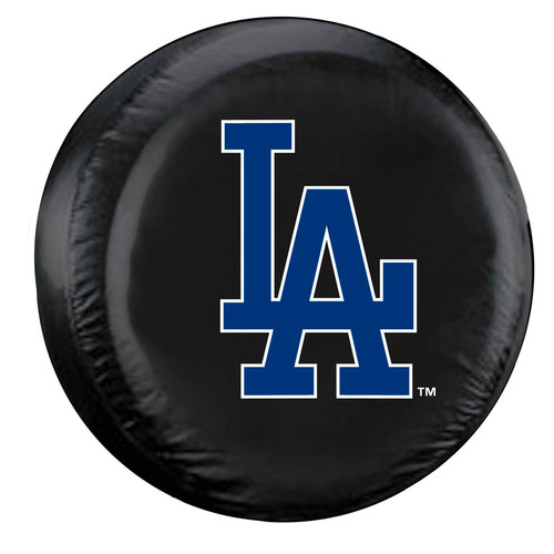 Los Angeles Dodgers Tire Cover Large Size Black - Special Order