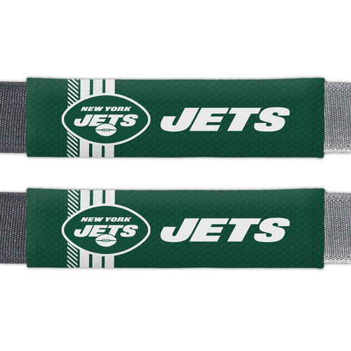 New York Jets Seat Belt Pads Rally Design