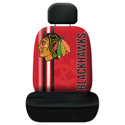 Chicago Blackhawks Seat Cover Rally Design - Special Order