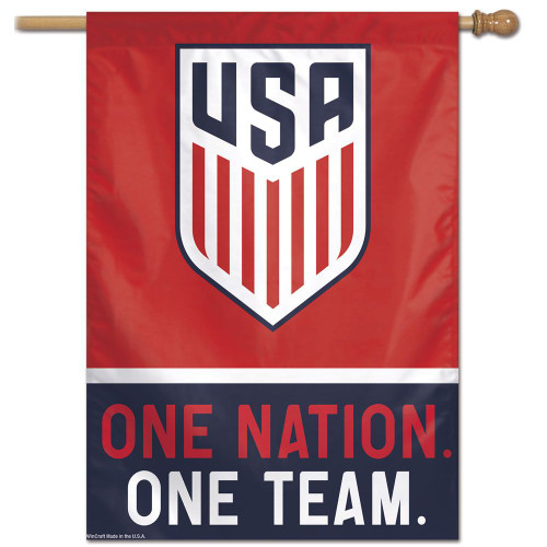 US Soccer National Team Banner 28x40 Vertical - Special Order