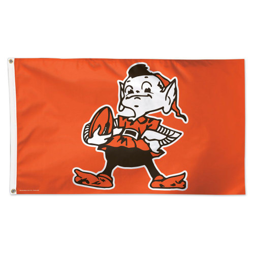 Cleveland Browns Flag 3x5 Deluxe Style Classic Logo