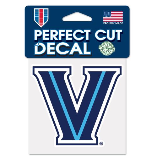 Villanova Wildcats Decal 4x4 Perfect Cut Color