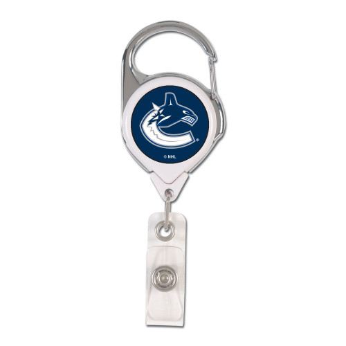 Vancouver Canucks Badge Holder Premium Retractable - Special Order
