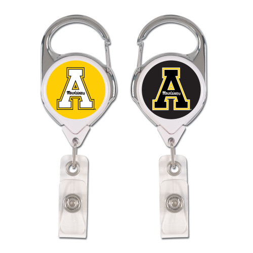Appalachian State Mountaineers Badge Holder Premium Retractable - Special Order