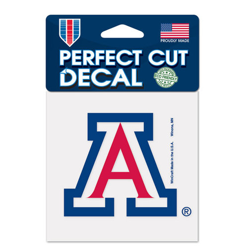 Arizona Wildcats Decal 4x4 Perfect Cut Color