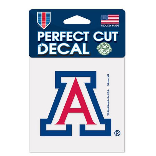Arizona Wildcats Decal 4x4 Perfect Cut Color