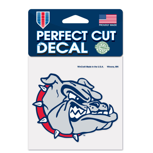Gonzaga Bulldogs Decal 4x4 Perfect Cut Color - Special Order