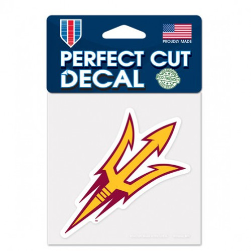 Arizona State Sun Devils Decal 4x4 Perfect Cut Color