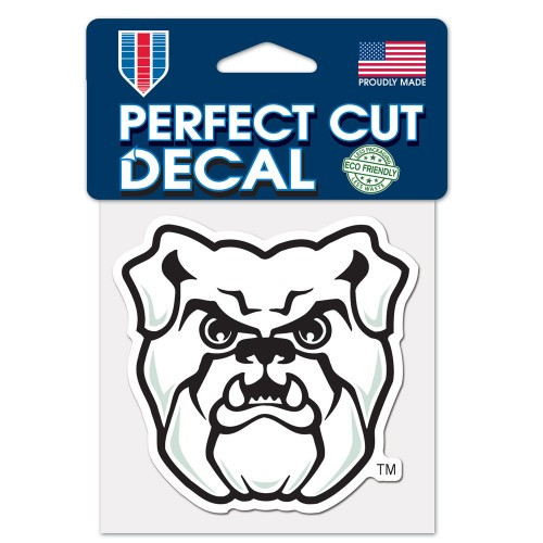 Butler Bulldogs Decal 4x4 Perfect Cut Color