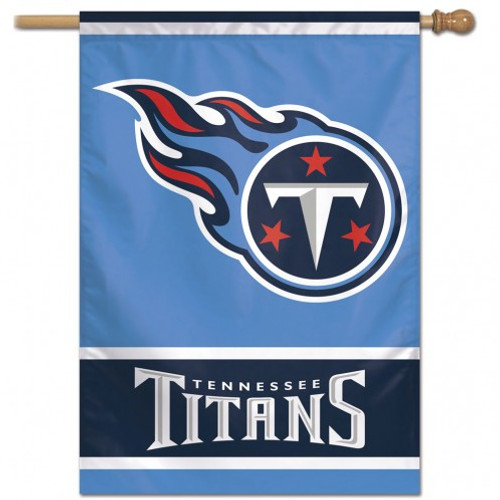 Tennessee Titans Banner 28x40 Vertical - Special Order