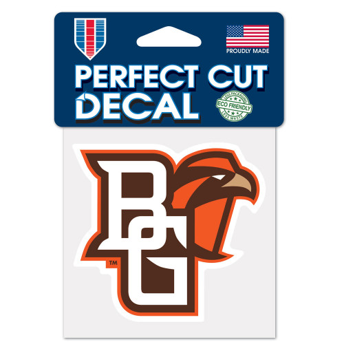Bowling Green Falcons Decal 4x4 Perfect Cut Color