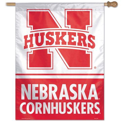 Nebraska Cornhuskers Banner 28x40 Vertical