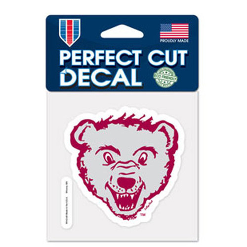 Montana GrizzliesDecal 4x4 Perfect Cut Color - Special Order