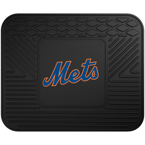 New York Mets Car Mat Heavy Duty Vinyl Rear Seat