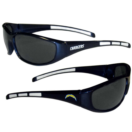 Los Angeles Chargers Sunglasses Wrap Style - Special Order