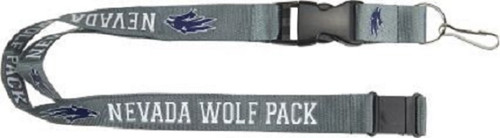 Nevada Wolf Pack Lanyard Gray - Special Order