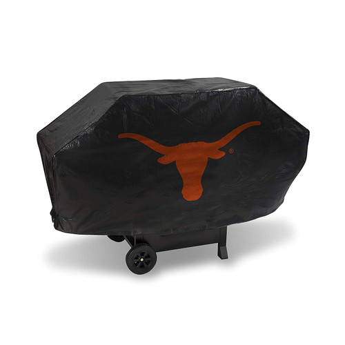 Texas Longhorns Grill Cover Deluxe Black
