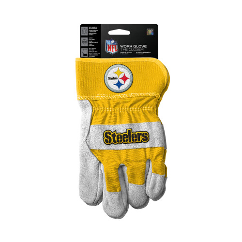 Pittsburgh Steelers Gloves Work Style The Closer Design