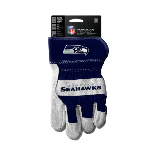 Seattle Seahawks Gloves Work Style The Closer Design