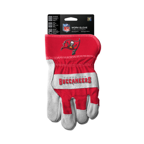 Tampa Bay Buccaneers Gloves Work Style The Closer Design