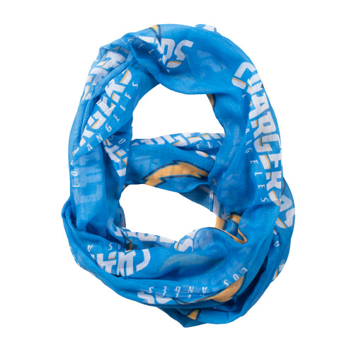 Los Angeles Chargers Scarf Infinity Style - Special Order