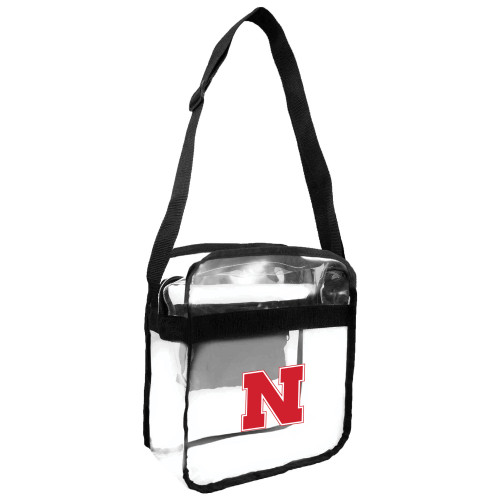 Nebraska Cornhuskers Carryall Clear Crossbody Style
