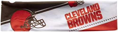 Cleveland Browns Headband Stretch Patterned