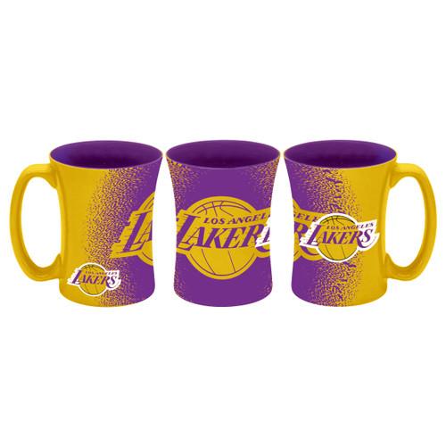 Los Angeles Lakers Coffee Mug 14oz Mocha Style