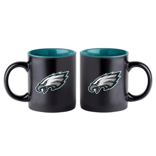 Philadelpha Eagles Coffee Mug 14oz Matte Black - Special Order