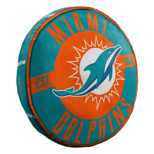 Miami Dolphins Pillow Cloud to Go Style