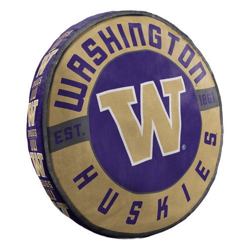 Washington Huskies Pillow Cloud to Go Style - Special Order