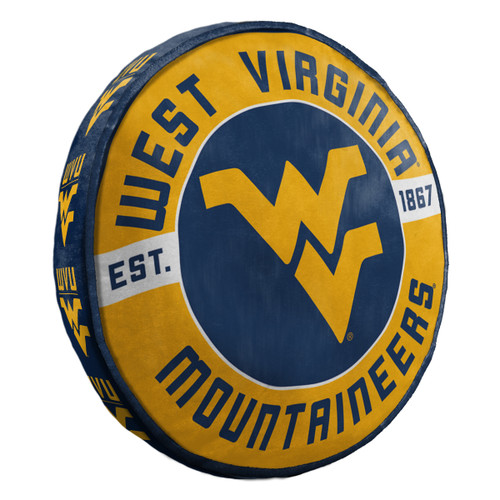 West Virginia Mountaineers Pillow Cloud to Go Style - Special Order