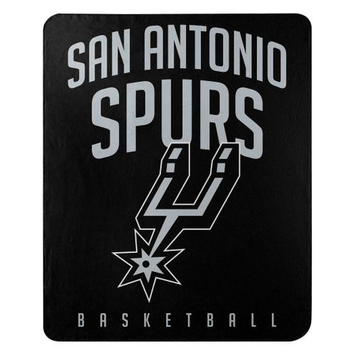 San Antonio Spurs Blanket 50x60 Fleece Lay Up Design