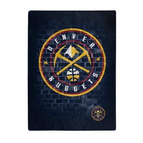 Denver Nuggets Blanket 60x80 Raschel Street Design - Special Order