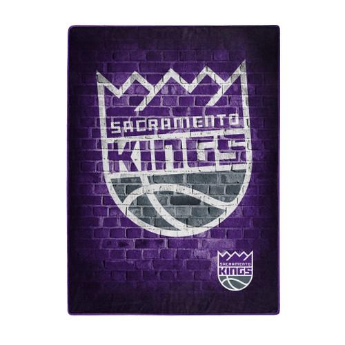 Sacramento Kings Blanket 60x80 Raschel Street Design - Special Order