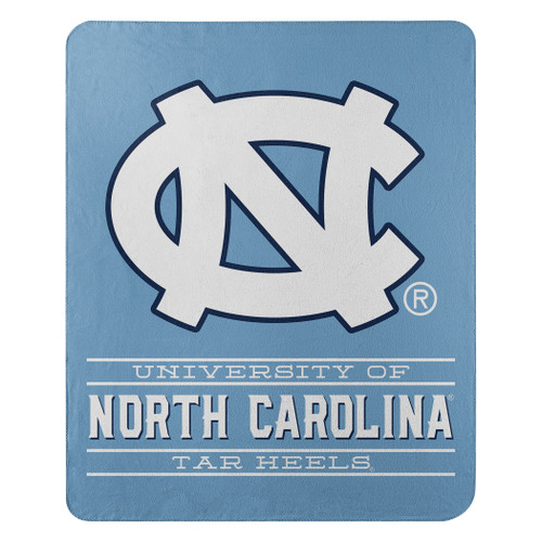 North Carolina Tar Heels Blanket 50x60 Fleece Control Design