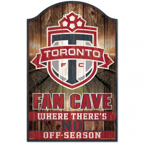 Toronto FC Sign 11x17 Wood Fan Cave Design - Special Order