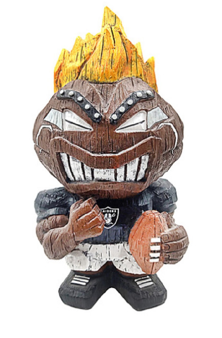 Las Vegas Raiders Tiki Character 8 Inch - Special Order