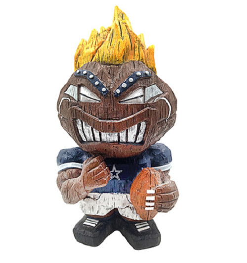 Dallas Cowboys Tiki Character 8 Inch - Special Order