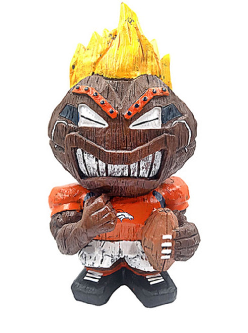Denver Broncos Tiki Character 8 Inch - Special Order