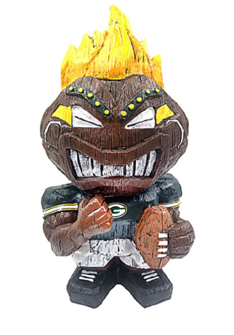 Green Bay Packers Tiki Character 8 Inch - Special Order