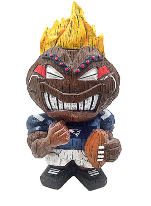 New England Patriots Tiki Character 8 Inch - Special Order