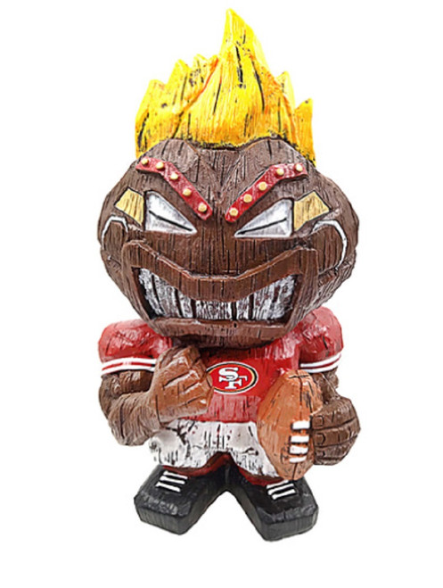 San Francisco 49ers Tiki Character 8 Inch - Special Order