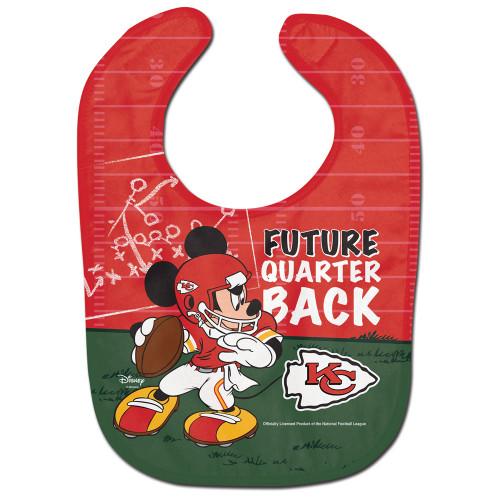 Kansas City Chiefs Baby Bib All Pro Future Quarterback - Special Order