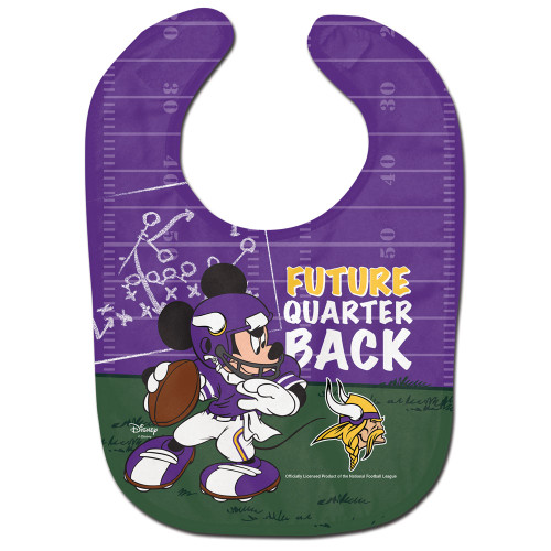 Minnesota Vikings Baby Bib All Pro Future Quarterback - Special Order
