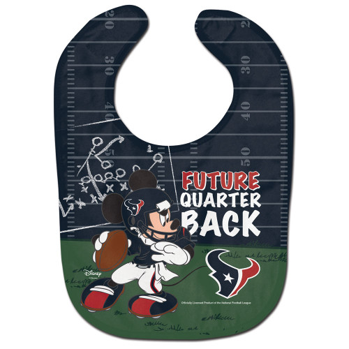 Houston Texans Baby Bib All Pro Future Quarterback - Special Order