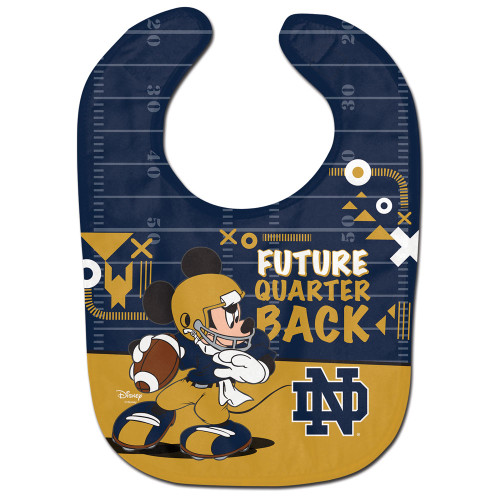 Notre Dame Fighting Irish Baby Bib All Pro Future Quarterback Special Order