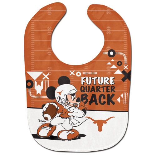 Texas Longhorns Baby Bib All Pro Future Quarterback - Special Order
